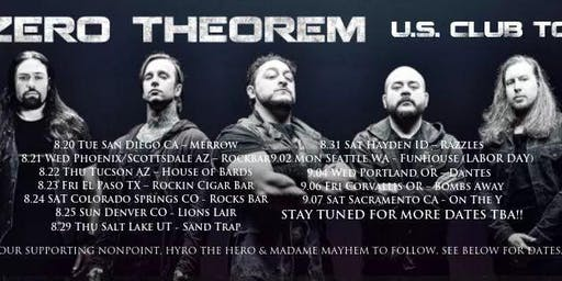 Zero Theorem With Special Guests On Tour Now