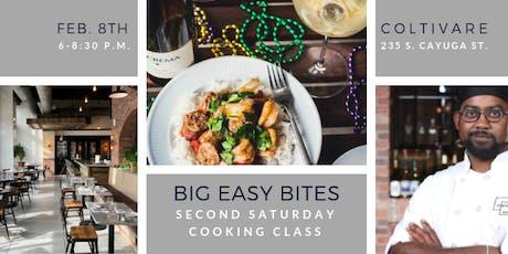 Cooking Class: Big Easy Bites II tickets