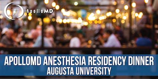 ApolloMD Anesthesia Residency Dinner   Augusta University