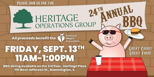 24th Annual Heritage Operations Group BBQ