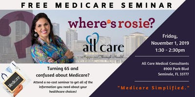 Medicare 101 - Free Medicare Seminar - Hosted by AllCare