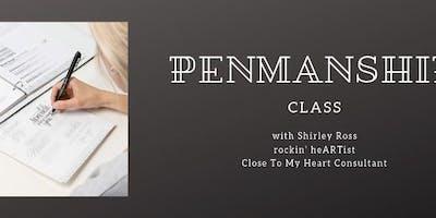 Penmanship Class