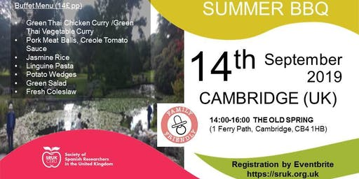 Cambridge Summer BBQ
