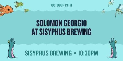 Solomon Georgio at Sisyphus Brewing