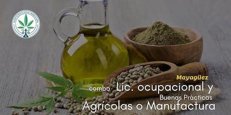 Combo: Lic. Ocupacional con Buenas Prácticas Agrícolas y/o Manufactura (Mayagüez) entradas