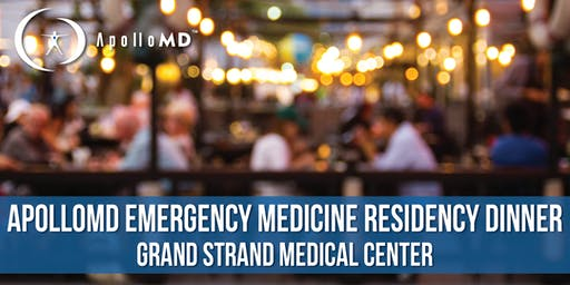 ApolloMD Emergency Medicine Residency Dinner | Grand Strand