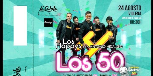 Los Happys Fiesta Los 50 en Villena