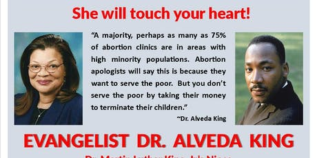 Dr. Alveda King Talk and Luncheon tickets