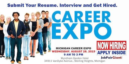 Sterling Heights - Detroit Job Fair August 28, 2019