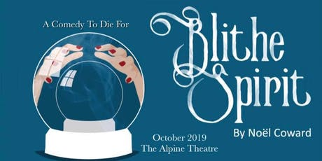 Blithe Spirit - Presented by the Jackson County Players tickets