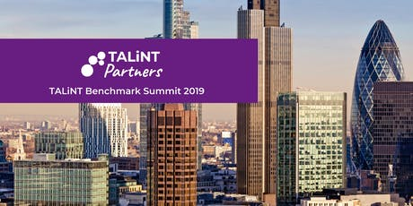 TALiNT Benchmark Programme Summit 2019  tickets