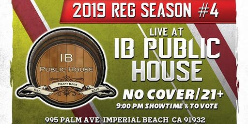 SD Comedy League 2019: S4: IB Public House : 9/13/19