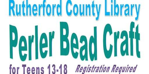 Perler Bead Craft for Teens