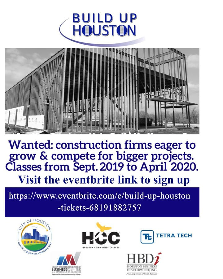 Houston Events April 2020.Build Up Houston Tickets Sun Sep 1 2019 At 9 00 Am