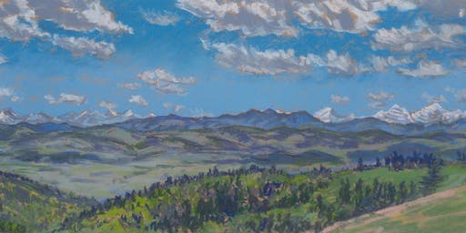 Open Air Pastel Workshop with Dean Tatam Reeves