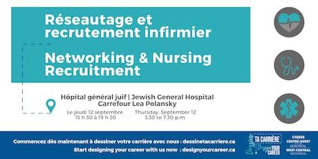 Réseautage et recrutement infirmier / Networking and Nursing Recruitment tickets