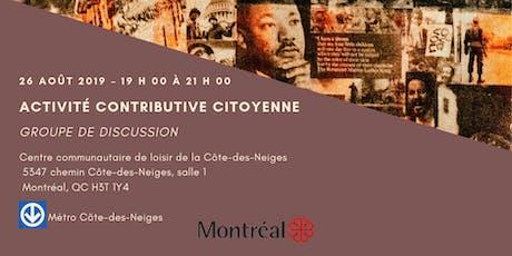 Appel à participant.e.s / Activité contributive citoyenne du CIM (2e) billets