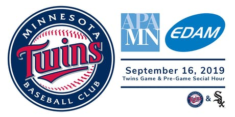 Twins Game with APA MN and EDAM tickets