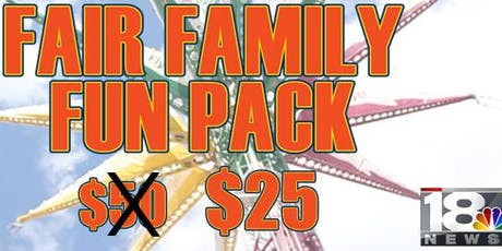 WETM - NYS Fair Family Fun Packs tickets
