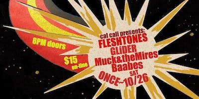 TheFleshtones, GLiDER, Muck & theMires, Baabes