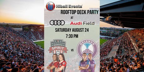 Washington Spirit vs Orlando Pride HiBall Events Rooftop Deck Party tickets