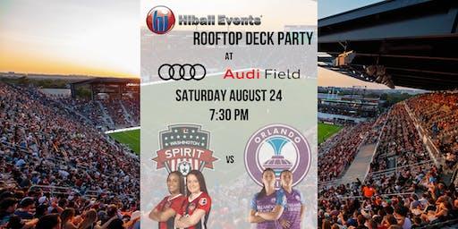 Washington Spirit vs Orlando Pride HiBall Events Rooftop Deck Party