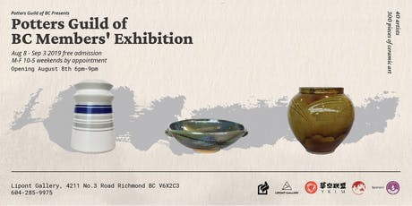 Best BC Ceramics - Potters Guild of BC Members' Exhibition tickets
