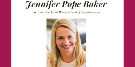 Women's Enrichment Series feat. Jennifer Pope Baker tickets