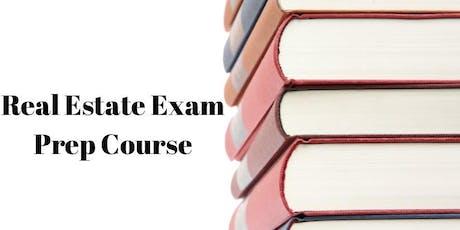 Real Estate Exam Prep Course tickets