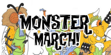 MONSTER MARCH Manayunk | Halloween Bar Crawl tickets