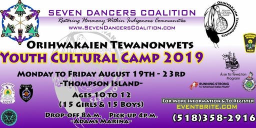 Youth Cultural Camp 2019 - Orihwakaien Tewanonwets
