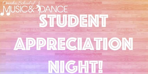 OSMD Student Appreciation Night!