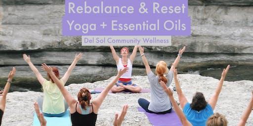 Rebalance & Reset: Yoga + Essential Oils