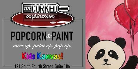 Kids Kanvas | Panda tickets