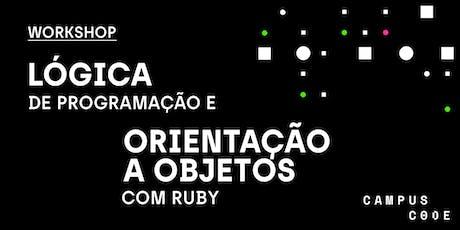Lógica de Programação e Orientação a Objetos com Ruby ingressos