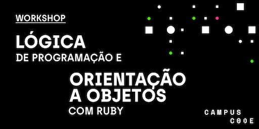 Lógica de Programação e Orientação a Objetos com Ruby