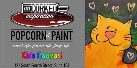Kids Kanvas | Kitty tickets