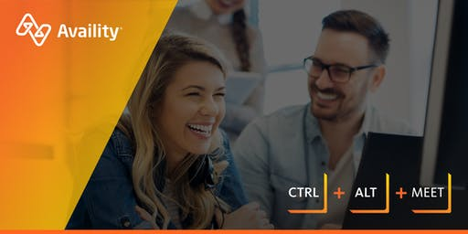 Ctrl + Alt + Meet presented by Availity