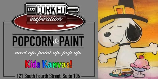 Kids Kanvas | Snoopy's Thanksgiving
