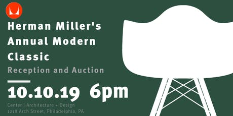 Herman Miller's Annual Modern Classic Auction tickets