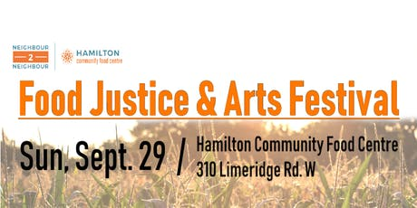 Food Justice & Arts Festival tickets