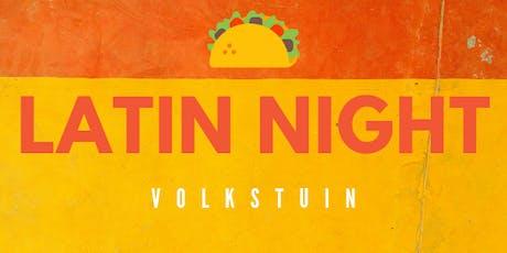 Latin Night at Volkstuin tickets