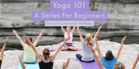 Yoga 101: 4-Part Series tickets