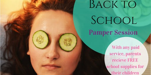 Back to School Pamper Session