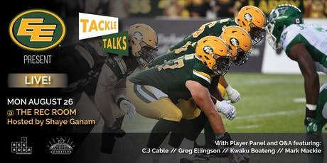 Edmonton Eskimos present Tackle Talks Live tickets