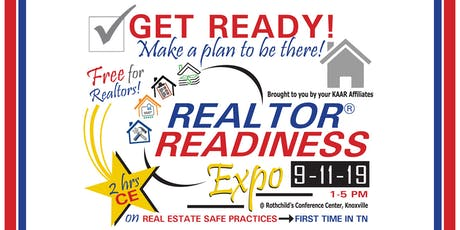 Realtor Readiness Expo tickets