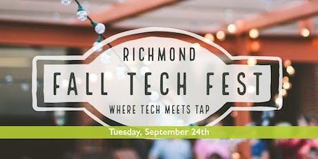 Richmond Fall Tech Fest 2019 tickets