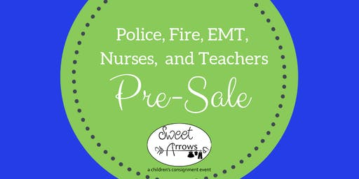 Police, Fire, EMT, Military, Nurses, and Teachers Hero Pre-Sale