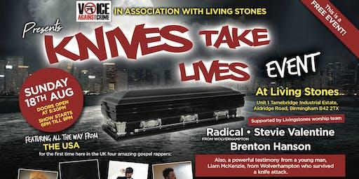 Knives Take Live - Concert