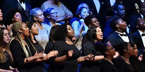Washington Performing Arts' Men and Women of the Gospel Choir